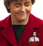 Miliband in  Sturgeon's pocket